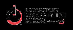 Laboratory accreditation bureau logo