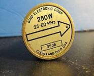 Bird 250A Watt Meter Plug-In