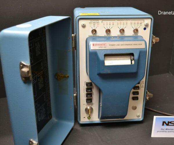 Dranetz 606 Line Monitor