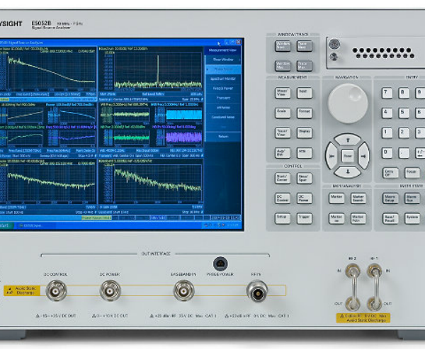 E5052B SSA Signal Source Analyzer, 10 MHz To 7 GHz, 26.5 GHz, Or