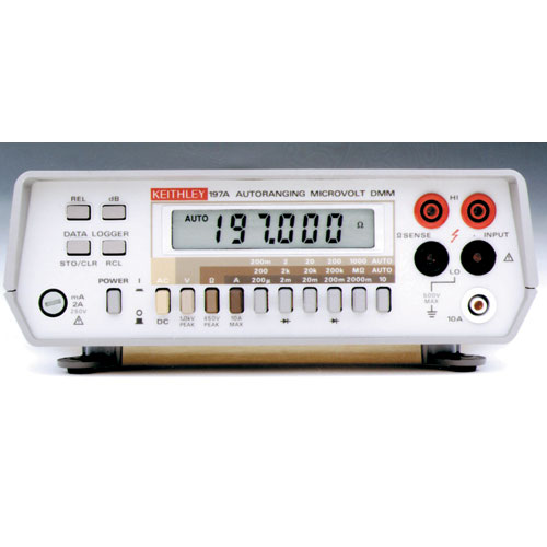 Keithley 197 5.5 Digit Portable Autoranging Microvoltmeter Rental