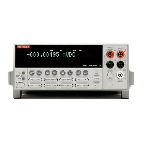 Keithley 2001 High-Performance, 7-1/2-Digital DMM Rental
