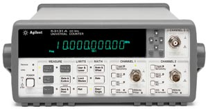 Keysight (formerly Agilent T&M)  53132A Universal Frequency Counter Rental
