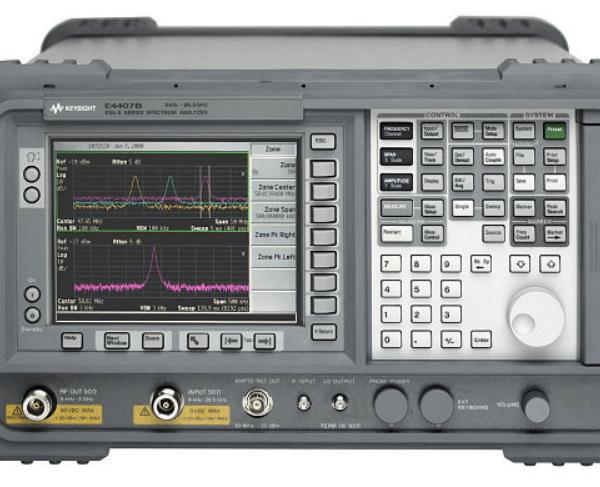 Keysight (formerly Agilent T&M) E4407B-49-A4H-AYK-B72 9 KHz To 26.5 GHz Spectrum Analyzer Rental