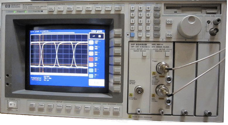 Keysight (formerly Agilent T&M)  83480A Infiniium DCA Wide-Bandwidth Oscilloscope Rental