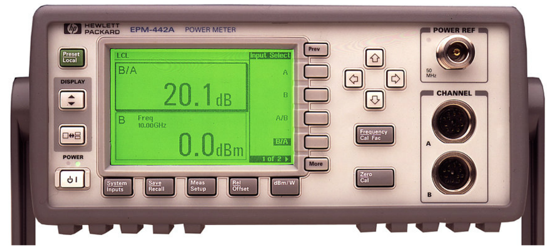 Keysight (formerly Agilent T&M) E4419A EPM Series Dual-Channel Power Meter Rental