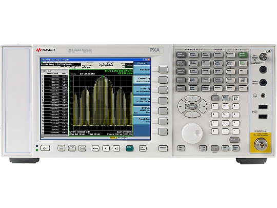 Keysight (formerly Agilent T&M) N9030A-526-B1X-B1Y-B40-C35-DP2-EP1-EXM-FS1-FS2-FSA-LFE-MPB PXA Signal Analyzer
