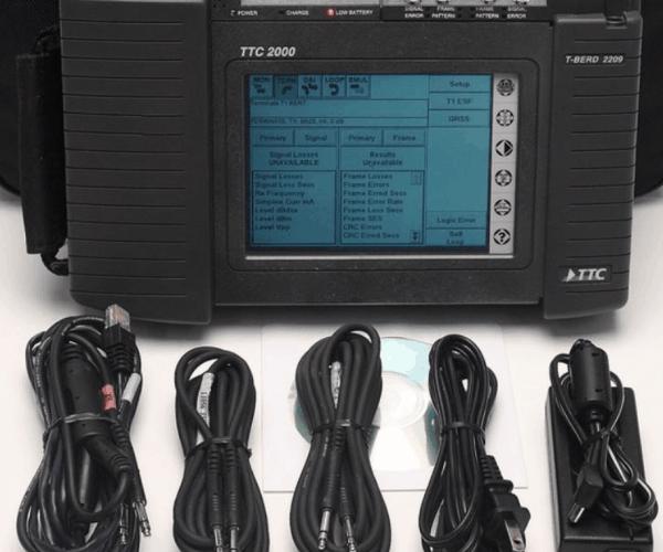 Acterna TTC JDSU 2000 Test Pad With T-BERD 2207