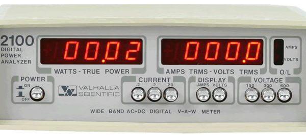 Valhalla Scientific 2101 Digital Power Analyzer