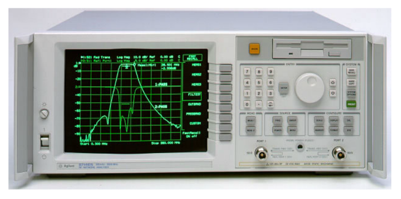 Keysight (formerly Agilent T&M)  8714ET 300 KHz To 3 GHz Network Analyzer