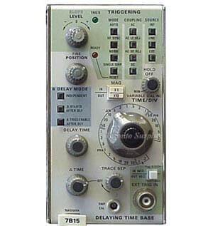 Tektronix 7B15 Delta Delaying Time Base Plug-In