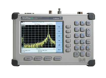 Anritsu Broadband Site Master S820D Cable & Antenna Analyzer, 2 MHz To 20 GHz