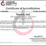 NSCA Tra-Cal Is NOW ANSI Z540.3 Accredited, Meeting The Highest National Standards Of Calibration!