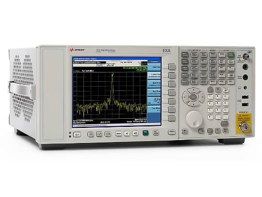 Keysight (formerly Agilent T&M) N9010A-526-B25-PFR-SSD-WXP EXA Signal Analyzer, 10 Hz To 26.5 GHz