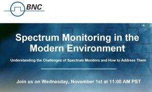 BNC Spectrum Monitoring webinar