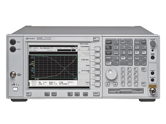 Keysight (formerly Agilent T&M)  E4440A-110-122-123-124-226-233-239-241-B7J 3 Hz To 26.5 GHz Spectrum Analyzer