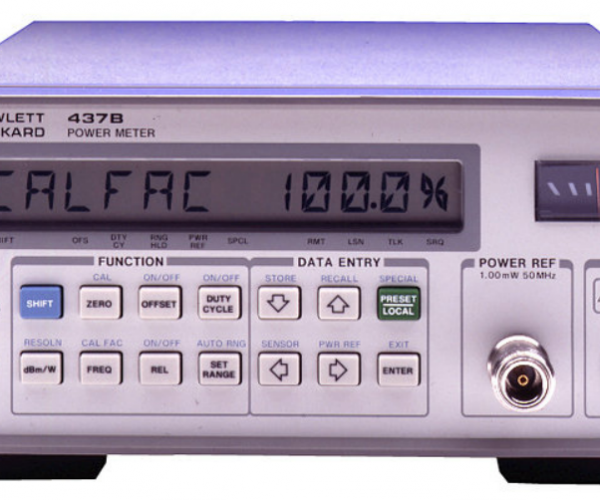 437B High Performance Single Channel Average Power Meter