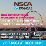 NSCA & Tra-Cal Lab To Exhibit In The NCSLI's Symposium At National Harbor MD On August 12-17, 2017