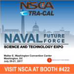 NSCA & Tra-Cal To Exhibit In The 2017 Naval Future Force Science And Technology Expo