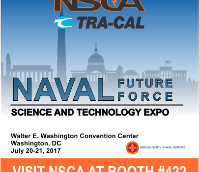 NSCA & Tra-Cal to Exhibit in the 2017 Naval Future Force