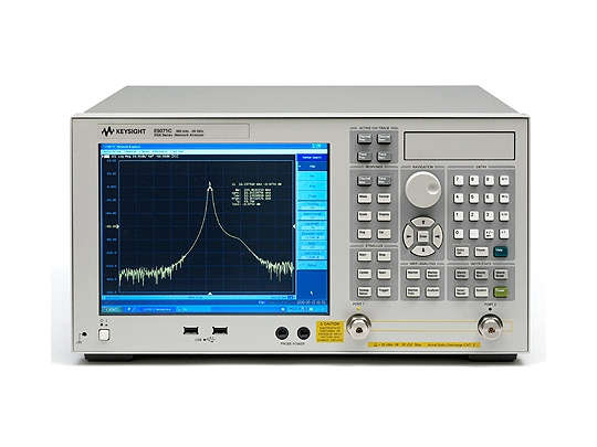 Keysight (formerly Agilent T&M) E5071B-015-214-UNQ ENA RF Network Analyzer, 300 KHz To 8.5 GHz