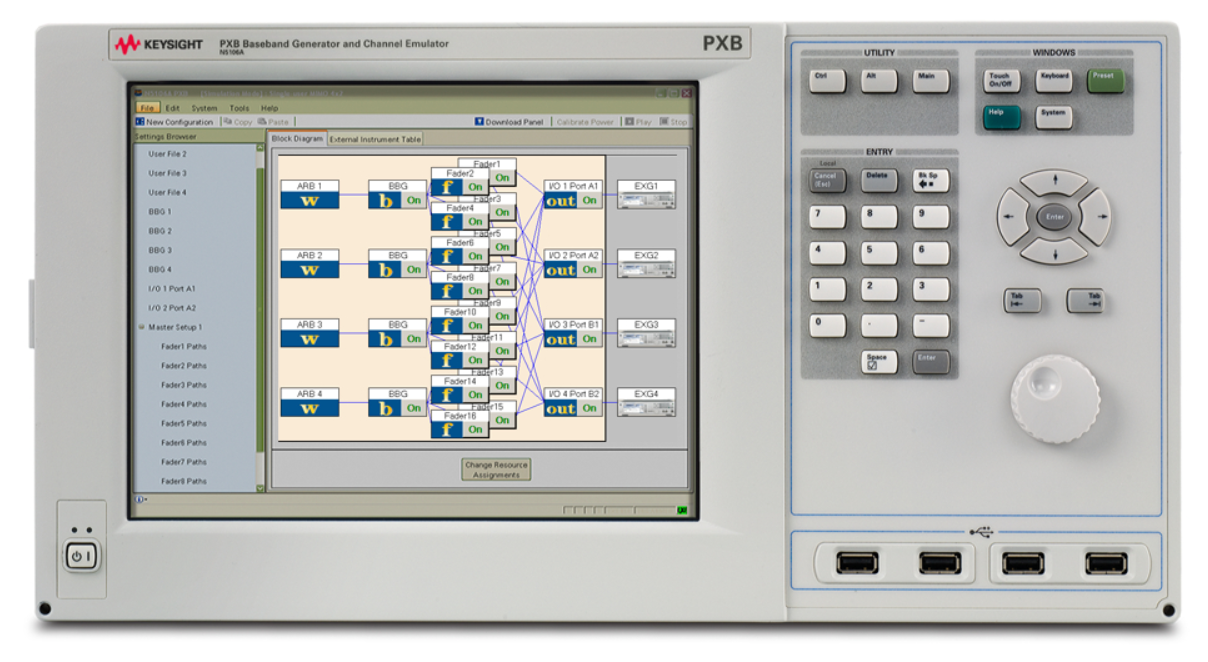 Keysight (formerly Agilent T&M) N5106A PXB Baseband Generator And Channel Emulator With Options