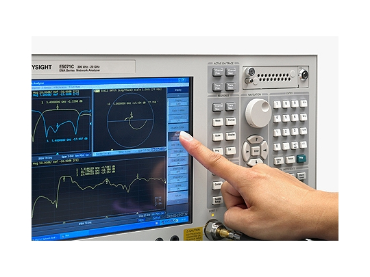 Keysight (formerly Agilent T&M) E5071C ENA Series Network Analyzer Rental