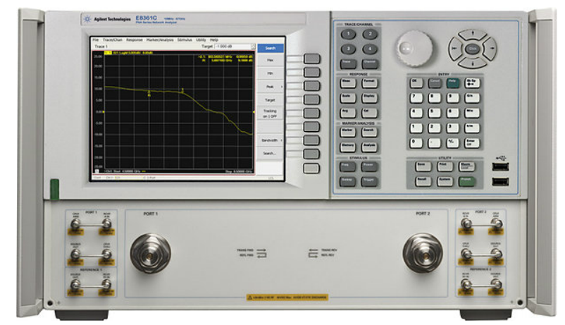 Keysight (formerly Agilent T&M) E8363C-010-014-080-081-H08-H11-UNL PNA Microwave Network Analyzer