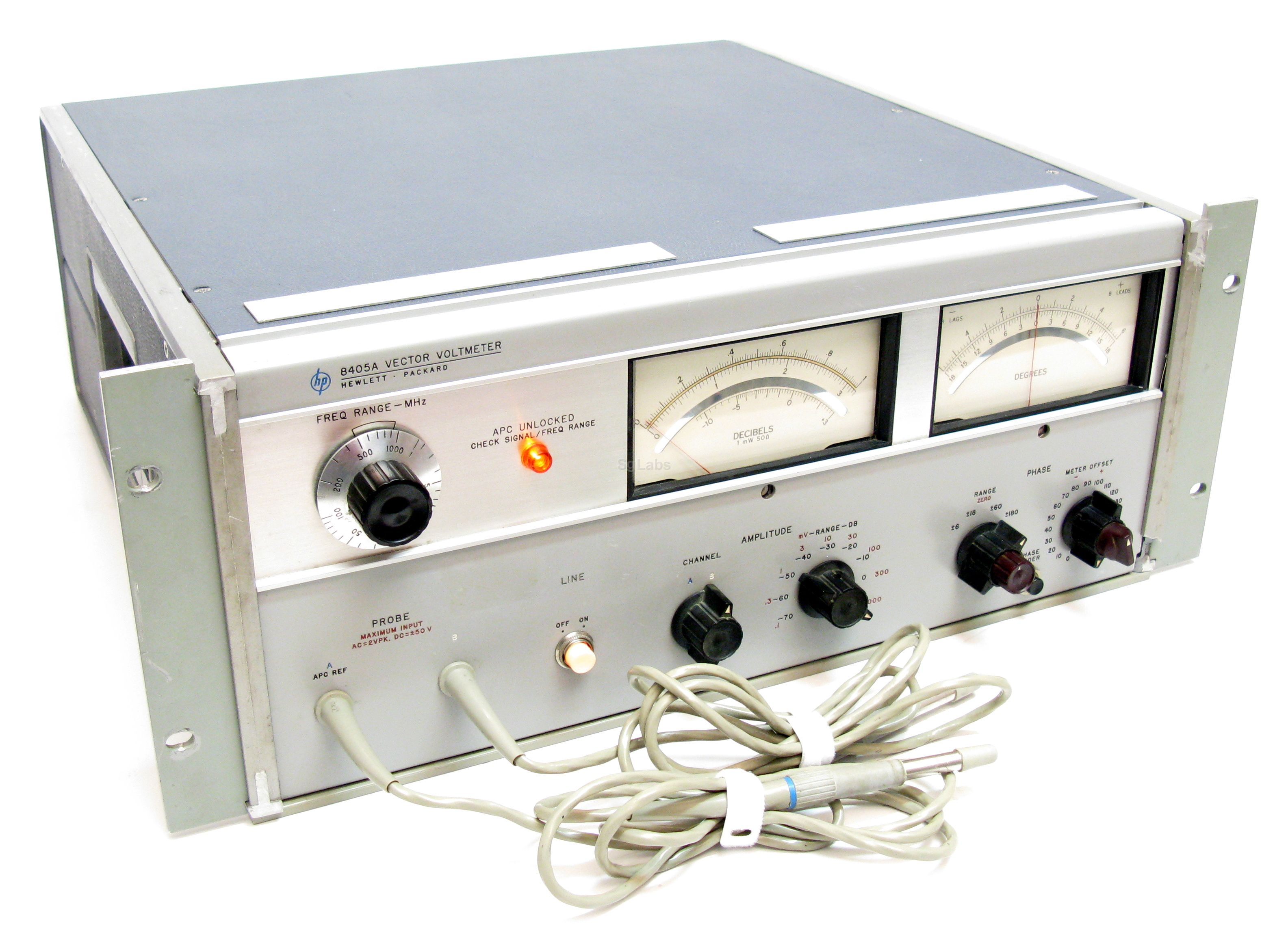 Keysight (formerly Agilent T & M) 8405A Vector Voltmeter Rental