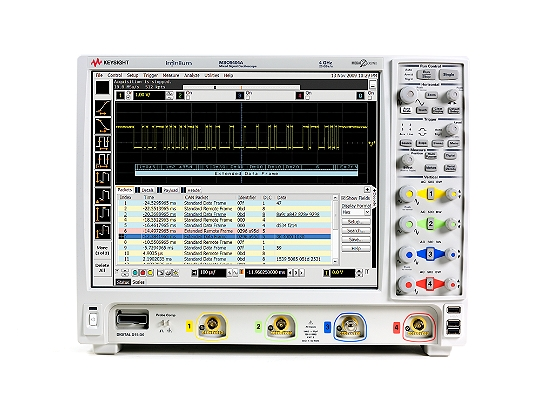 Keysight (formerly Agilent T&M) MSO9404A Mixed Signal Oscilloscope: 4 GHz, 4 Analog Plus 16 Digital Channels