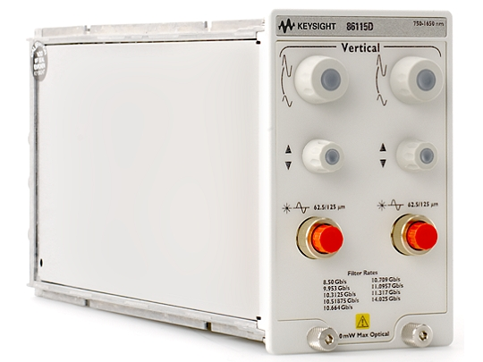 Keysight (formerly Agilent T&M) 86115D-RRR-102 20/34 GHz Module For High-Volume/Parallel Optical Transceiver Test