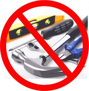 no hand tools