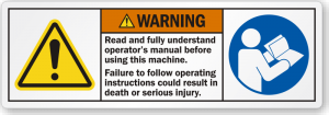 read-operators-manual-warning-label