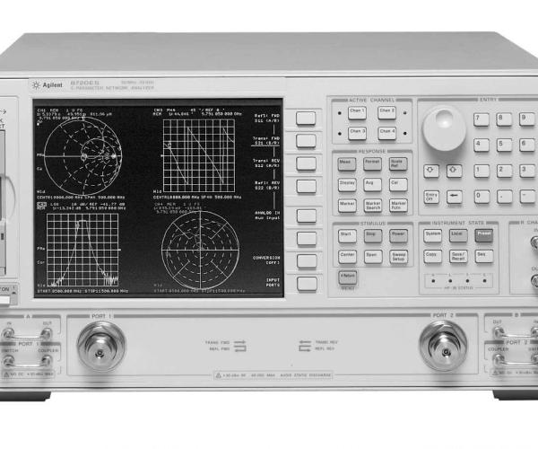 Keysight (formerly Agilent T&M) 8720ES S-parameter Network Analyzer, 50 MHz To 20 GHz