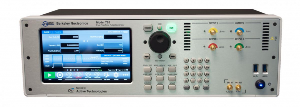 bnc 765 fast rise time pulse generator