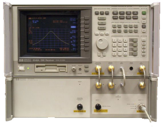 Keysight (formerly Agilent T&M) 8546A EMI Receiver/Analyzer (85462A And 85460A), 9 KHz To 6.5 GHz