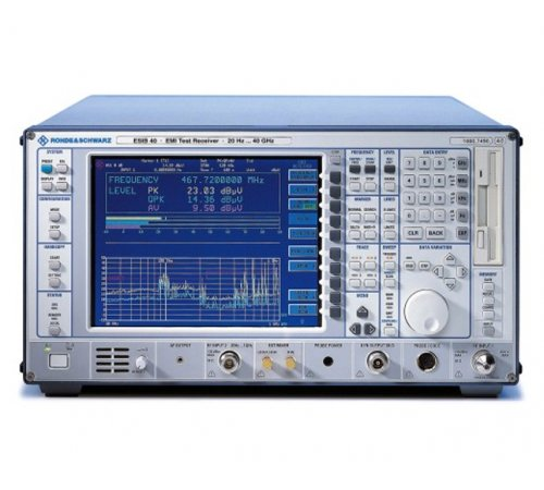 Rohde & Schwarz ESIB26 EMI Test Receiver, 20 Hz to 26.5 GHz