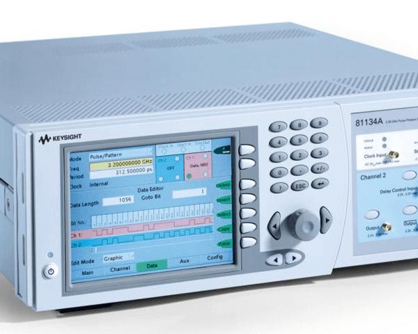 Keysight (formerly Agilent T&M) 81134A Pulse Pattern Generator, 3.35 GHz, Dual-channel