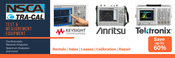 Handheld and Bench Test and Measurement Equipment Sale - Save up to 60% Off!