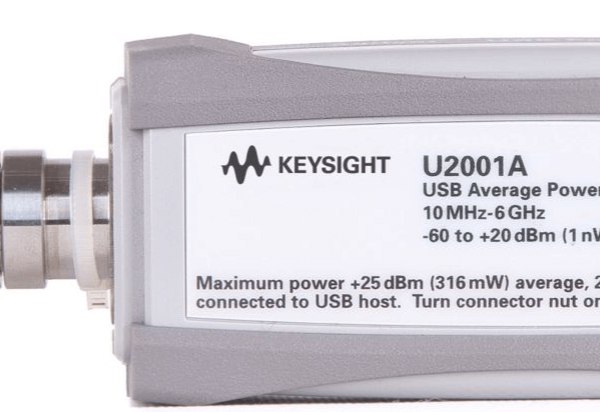 Keysight (formerly Agilent T&M) U2001A 10 MHz – 6 GHz USB Power Sensor
