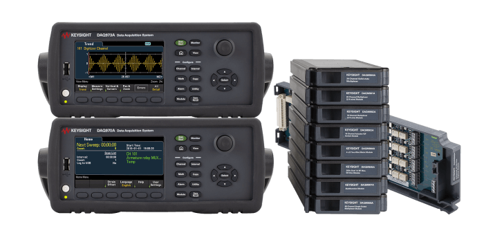 Introducing The New Keysight DAQ970A/973A Data Acquisition System And DAQM909A Digitizer