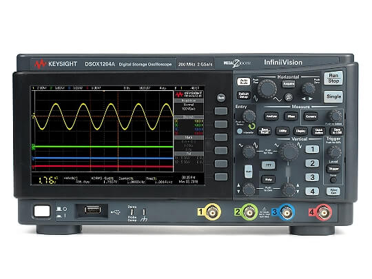 DSOX1204A 4-channel Oscilloscope
