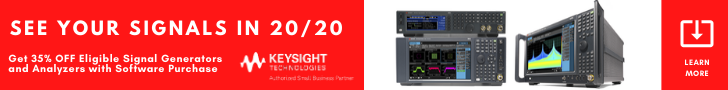 Get 35% Off Signal Generators And Analyzers With Software Purchase!