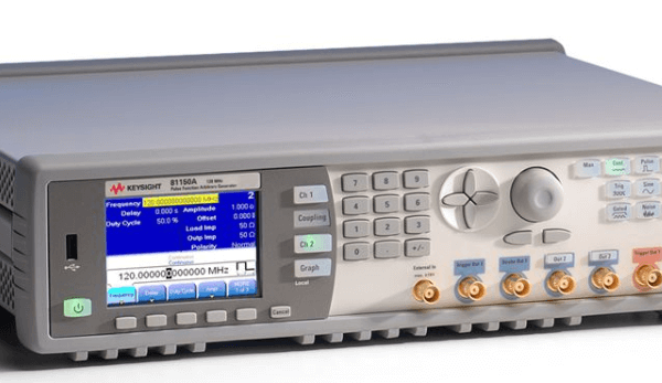 Keysight (formerly Agilent T&M) 81150A-0022-channel Pulse Function Arbitrary Noise Generator, 120 MHz