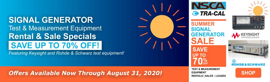 Summer Signal Generator Sale Banner